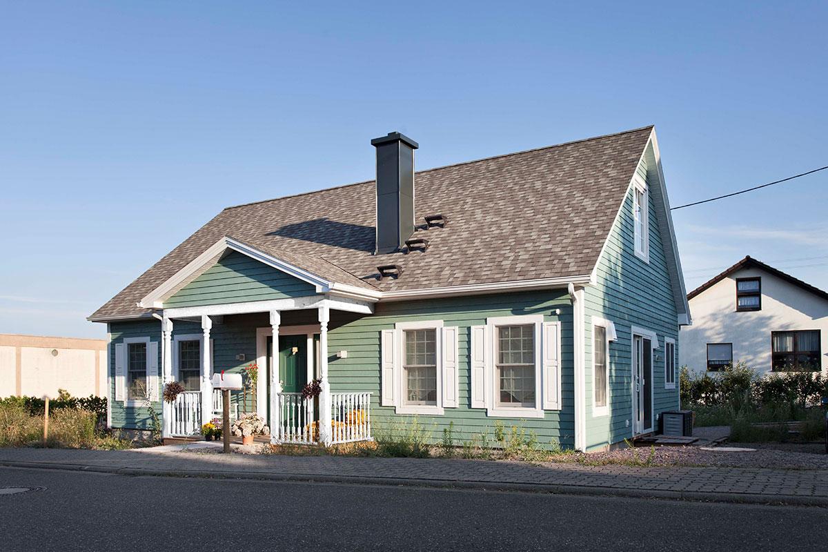 Außenansicht Modell Greenfield Mit Ausbaufähigem Dachraum
